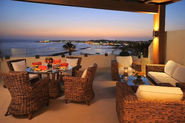 Castle View, Alexander The Great Hotel, Paphos, Cyprus