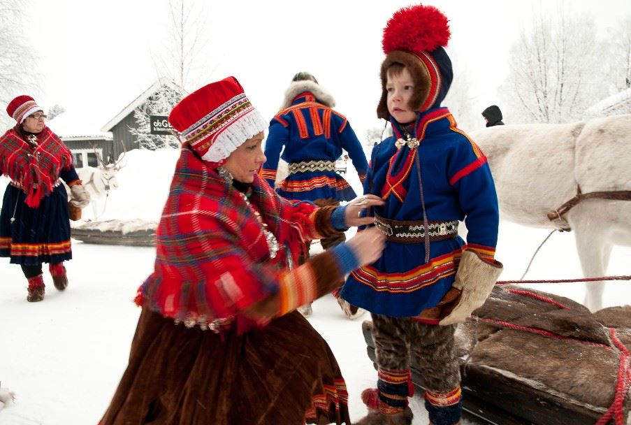 Sami person, Swedish Lapland