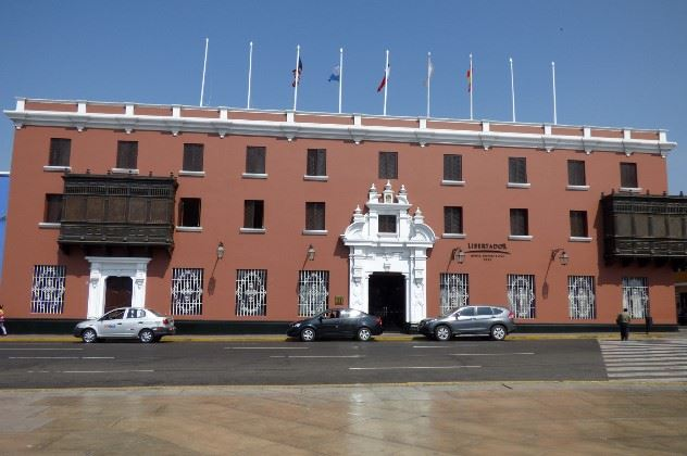 View of the Hotel Libertador, Trujillo