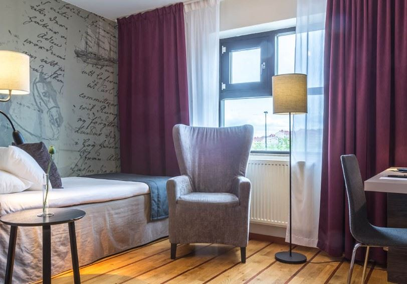 Single Room, Clarion Collection Hotel Carlscrona, Karlskrona