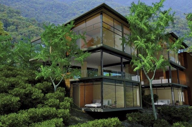 Exterior, Mashpi Lodge, Mindo Cloud Forest, Ecuador
