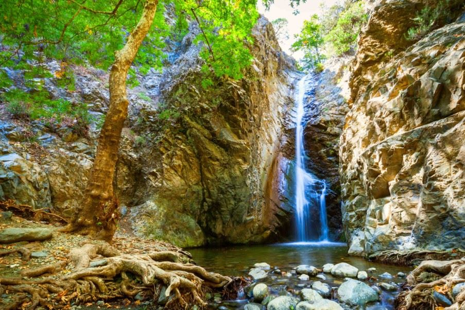 Waterfall at Platres, Troodos Mountains