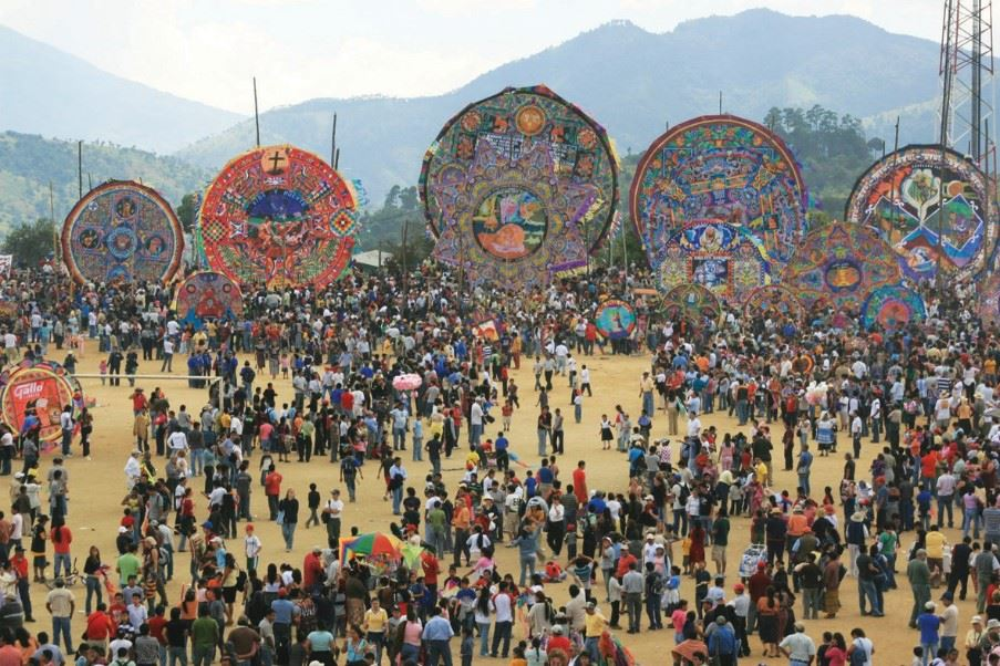 Kite Festival in Guatemala