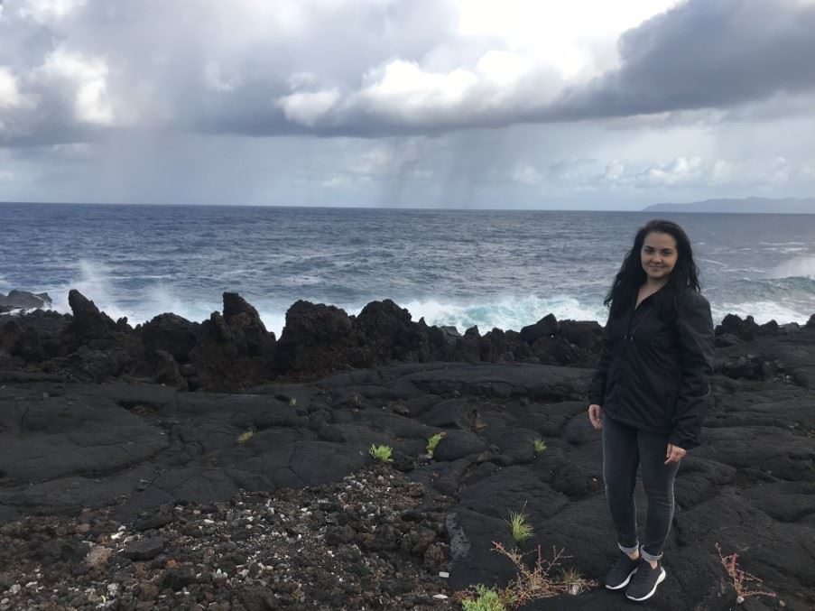 Cristiana in Pico, The Azores