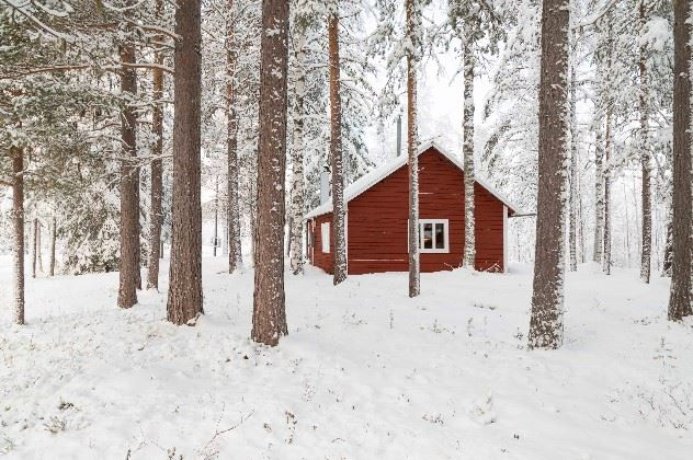 Loggers Lodge, Harads, Sweden