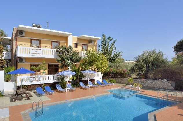 Afrodite Apartments, Kalives, North West Crete