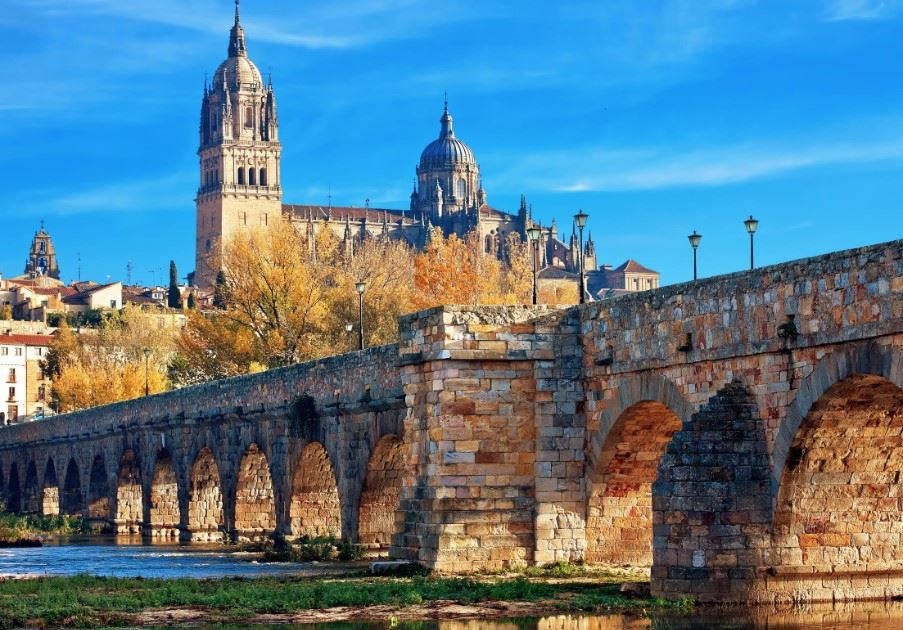 Old Roman bridge, Salamanca