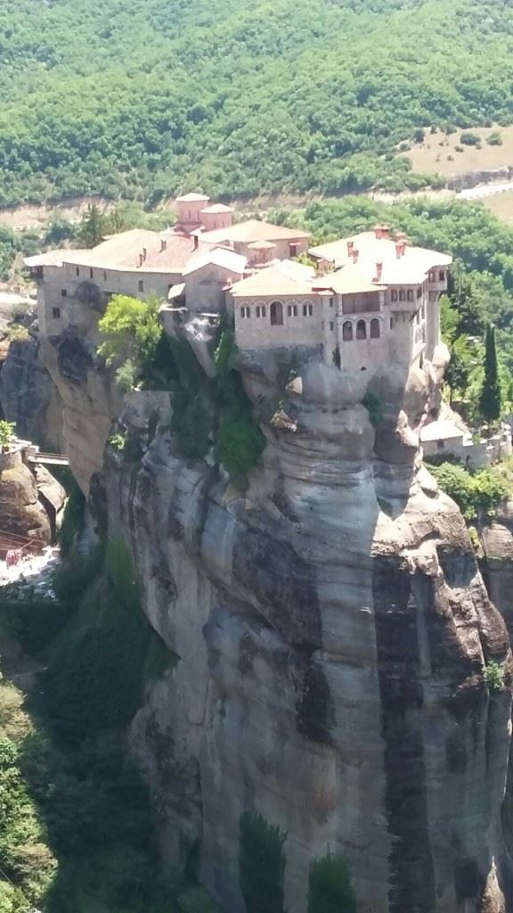 Cliff-top monastery of Meteora