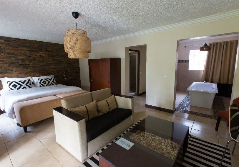 Honeymoon suite, Omali, Sao Tome