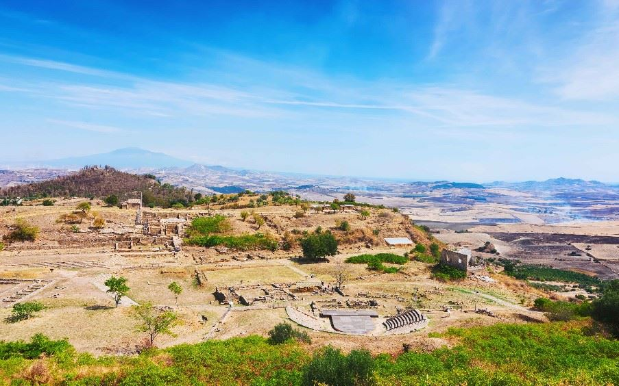 Morgantina archaeological site, Sicily
