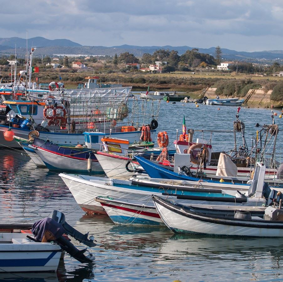 Fuseta fishing village