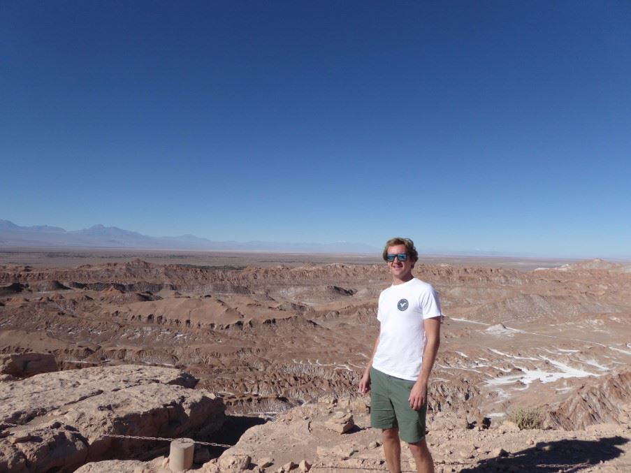 Joe at the Atacama Desert