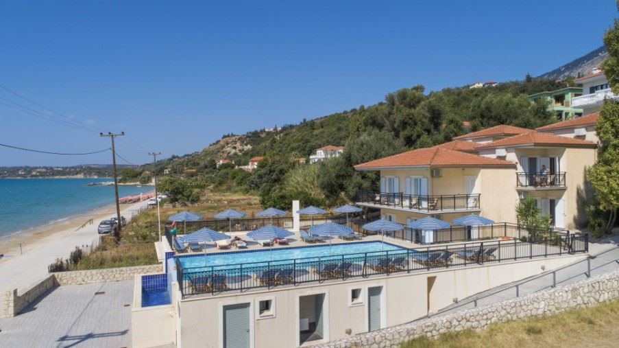 Lourdas Beach Apartments, South Kefalonia, Greece