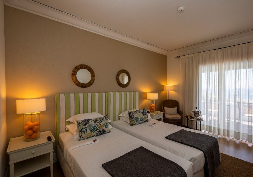 Superior room with sea view, Pousada de Sagres, the Algarve, Portugal