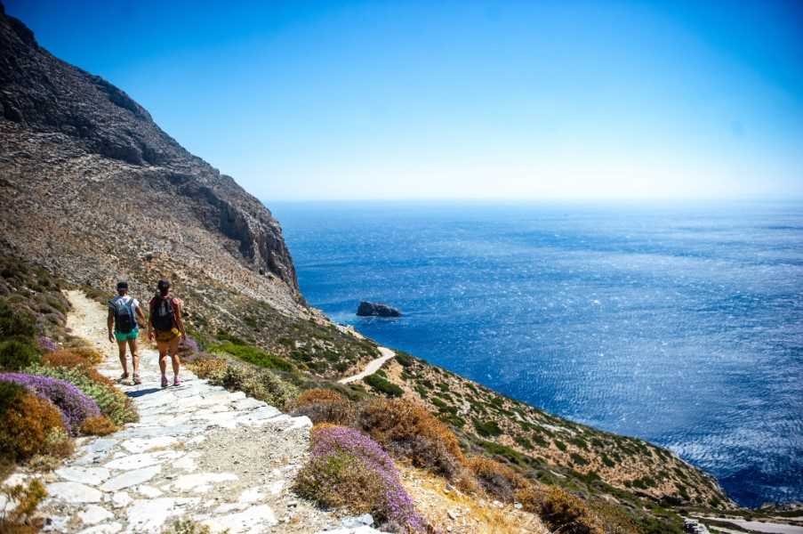 Coastal hike on Amorgos, Cyclades