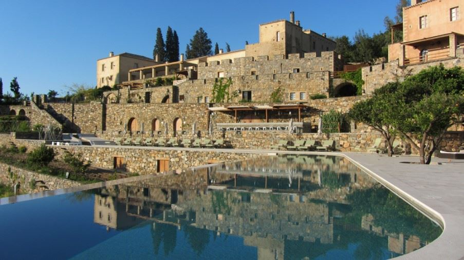 Kinsterna Hotel, South Peloponnese