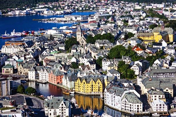 Alesund, The Fjords and Trondelag, Norway