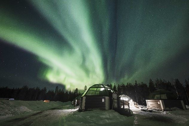 Arctic SnowHotel and Glass Igloos, Sinetta, Rovaniemi, Lapland, Finland