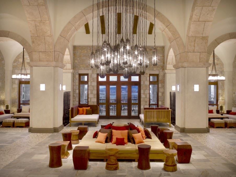 Lobby, Costa Navarino - Westin Resort