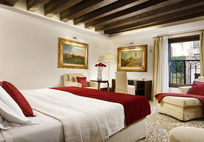 Junior Suite with garden view, Palazzo Giovanelli e Gran Canal, Venice