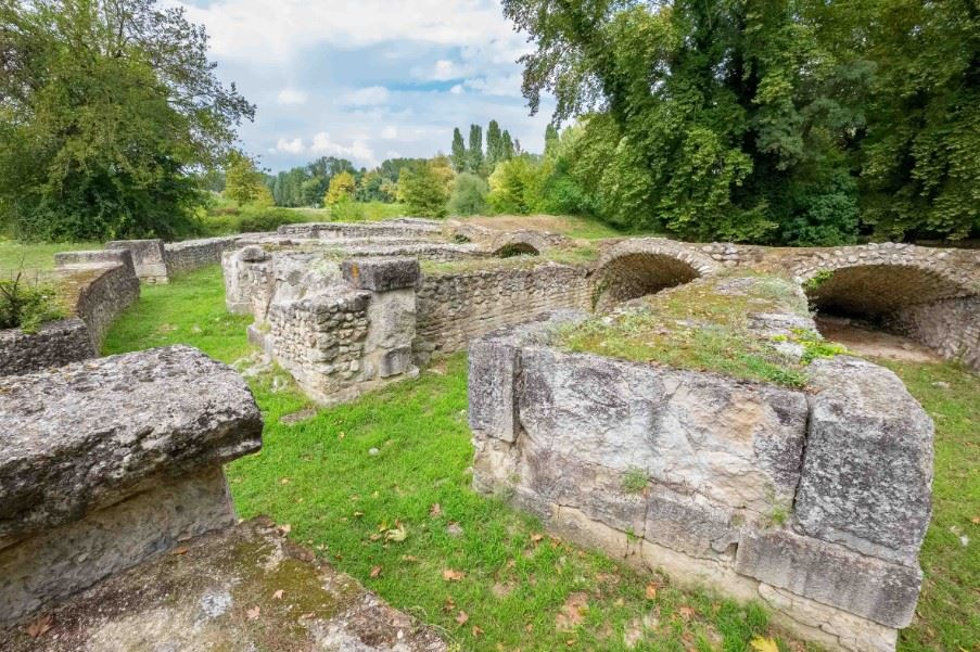 Roman theatre, Dion archaeological site, Pieria