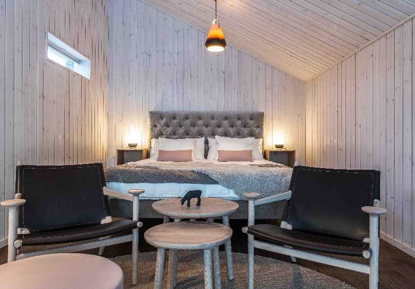 Land cabin suite, Arctic Bath, Swedish Lapland, Sweden