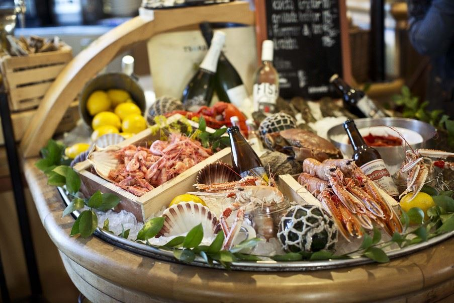 Local seafood, Gothenburg and The West Coast