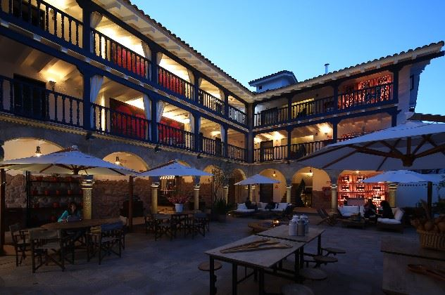 Courtyard, El Mercado, Cusco