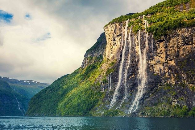 Waterfall, The Fjords