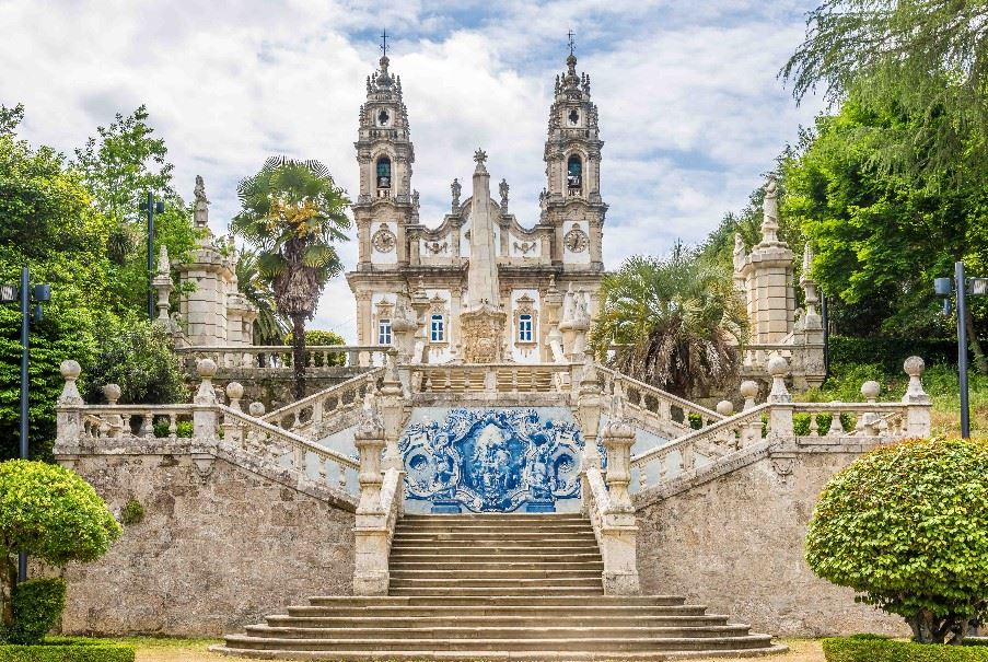 Our Lady of Remedios in Lamego, Portugal