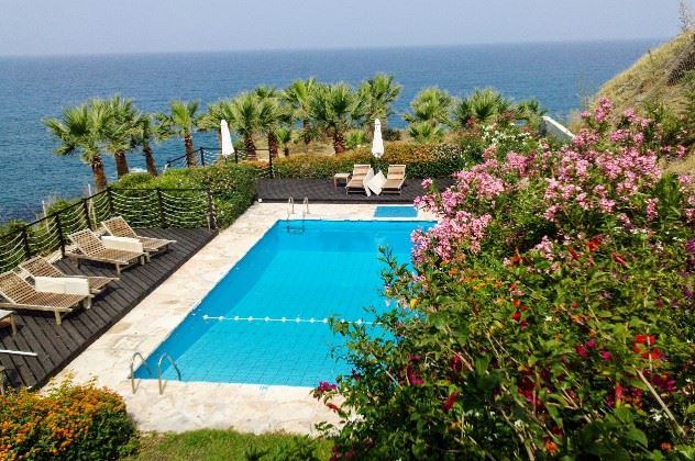 Swimming pool, Stella Maris Villa, Pomos, Cyprus