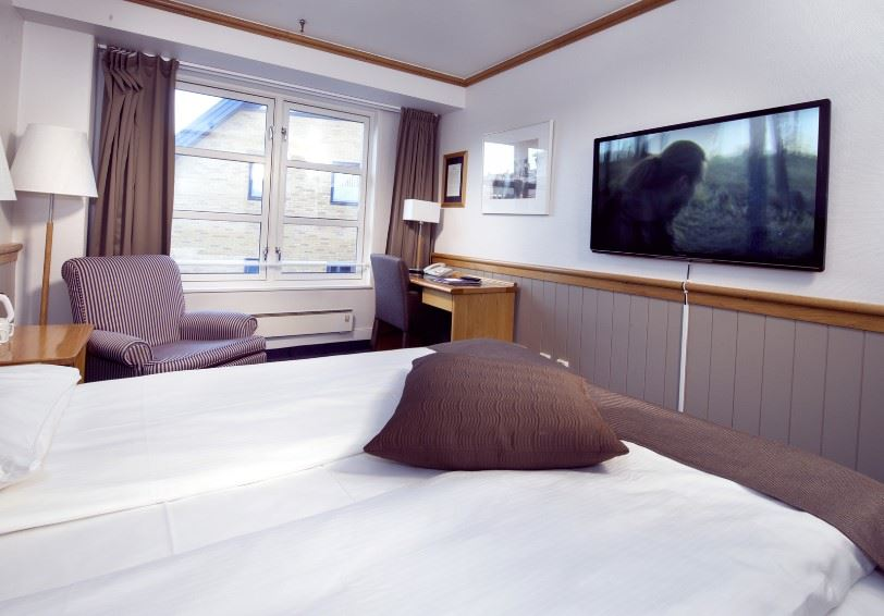 Standard room, Clarion Collection Hotel With, Tromso, Northern Norway