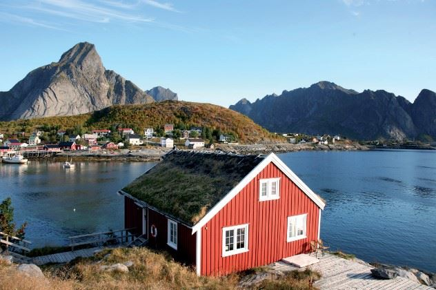 Reine Rorbuer, Reine, Northern Norway