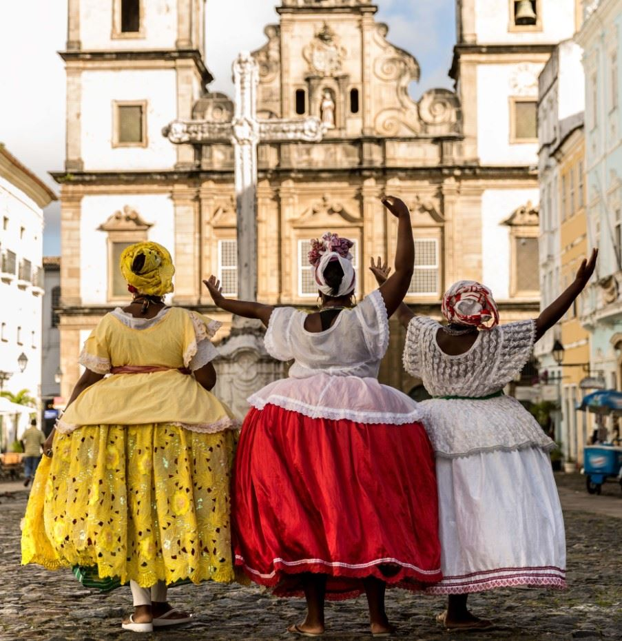 Group of Baianas in Salvador