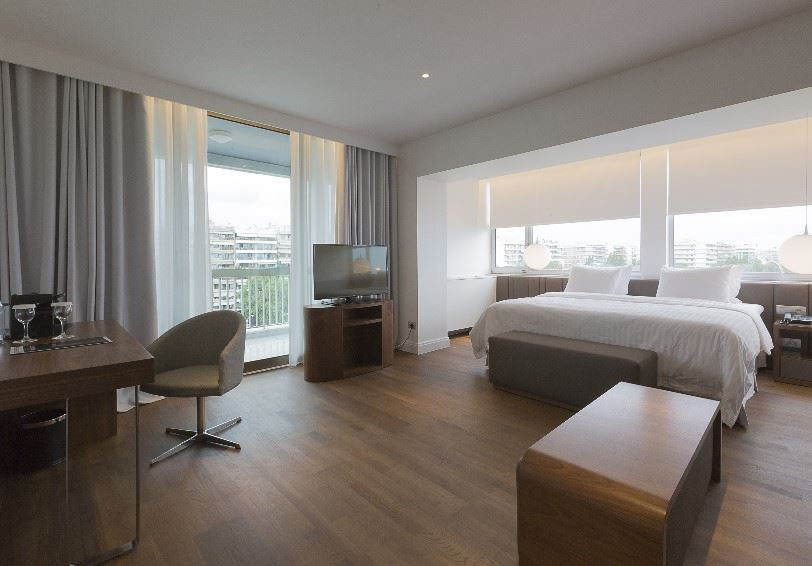 Junior city view suite, Makedonia Palace Hotel, Thessaloniki