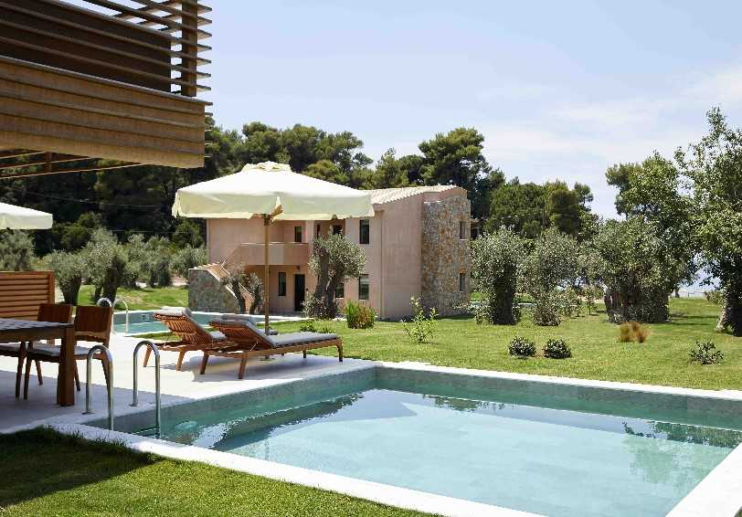 Nest Supreme Deluxe Room with private pool, Elivi Hotel, Koukounaries, Skiathos, Greece