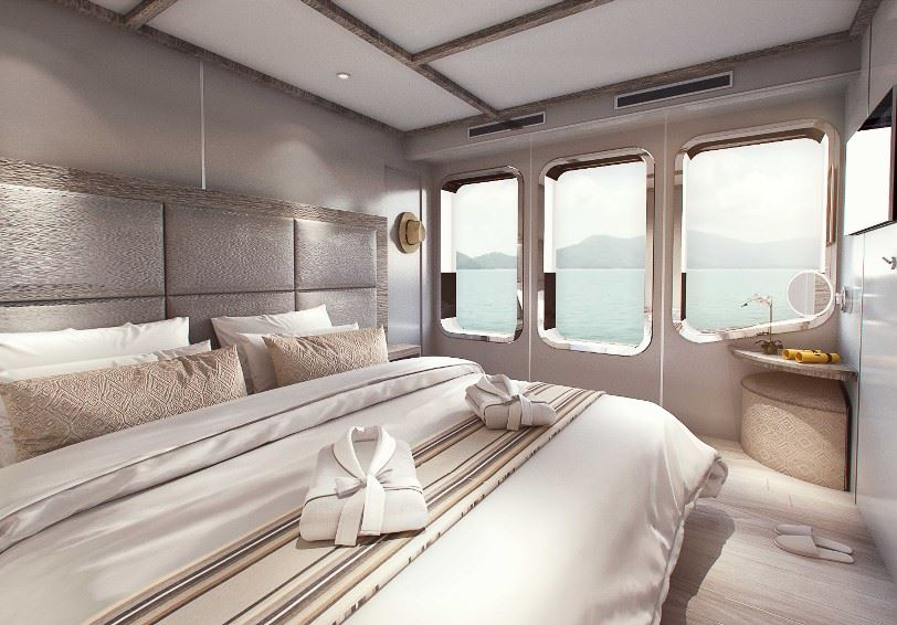 Double stateroom, MV Theory