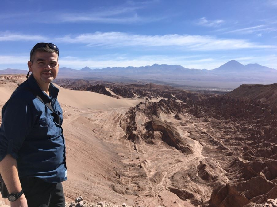 Will in Death Valley, Chile