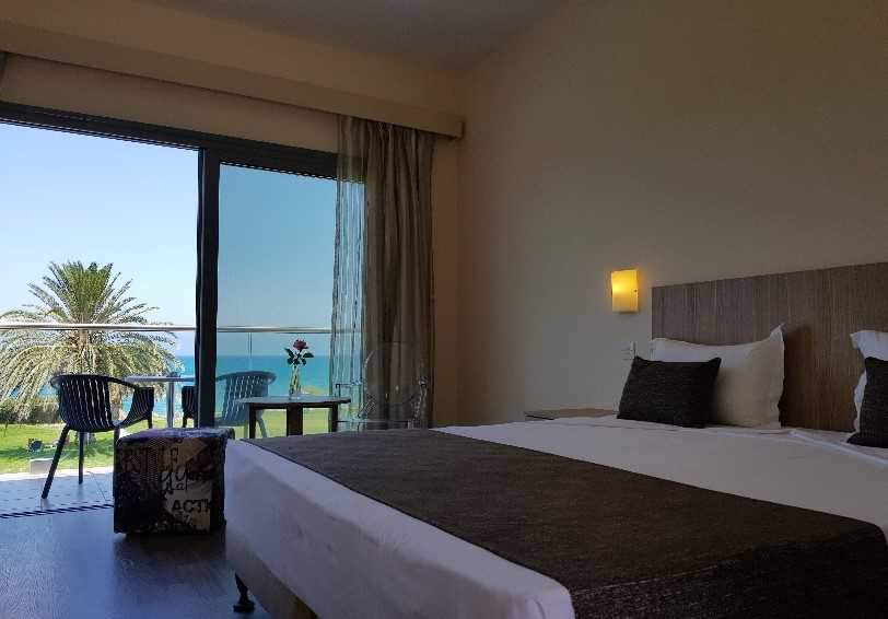 Standard room with sea view, Natura Beach Hotel, Polis, Cyprus