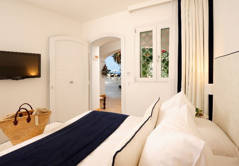 Classic room, Le Calette Hotel, Cefalu, Western Sicily