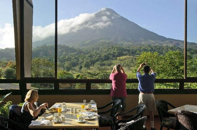 Terrace, Arenal Kioro Suites and Spa, Arenal, Costa Rica