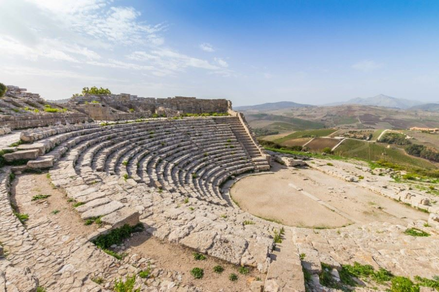 Segesta archaeological complex, Sicily