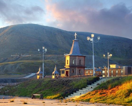 Russian Orthodox Church in Barentsburg