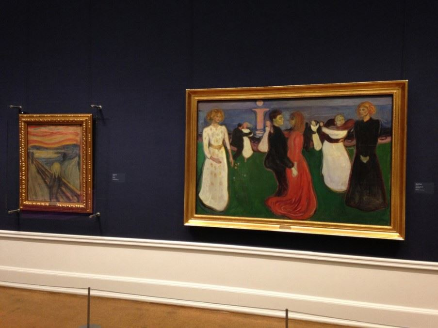 Exhibition of Munch at the National Gallery