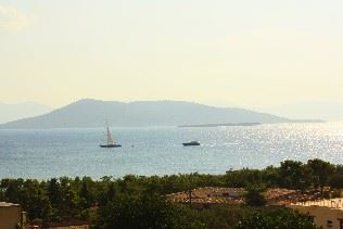 View from Rastoni Hotel, Aegina