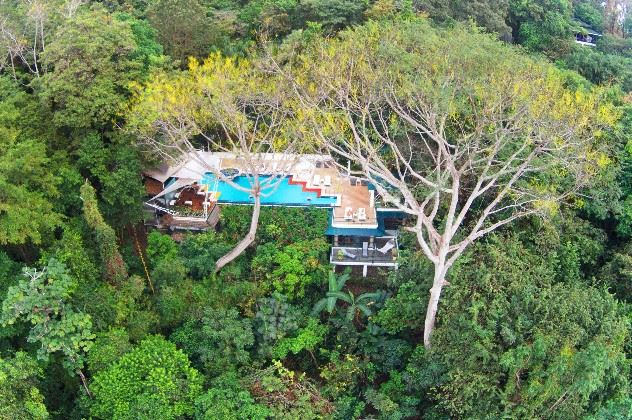 Ariel view, Makanda By The Sea, Manuel Antonio