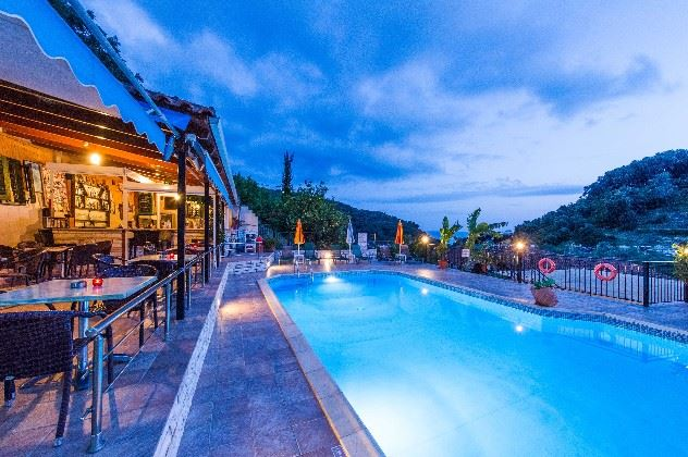 Swimming pool, Margarita Studios, Parga, Greece