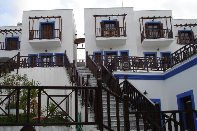 View of Aphroditi Hotel, Lipsi