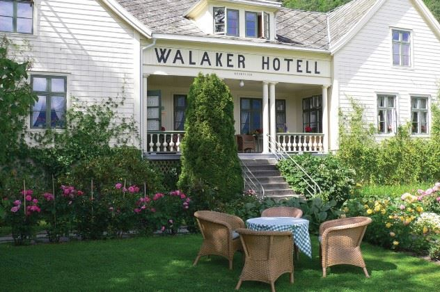 Walaker Hotel, Solvorn, the Fjords, Norway