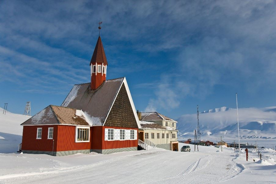Church in Longyearbyen